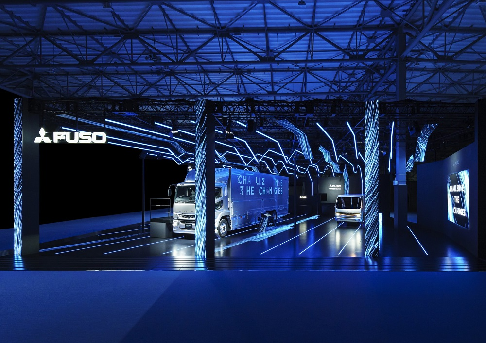 第46回東京モーターショー2019 三菱ふそうトラック・バスブース